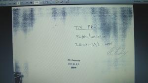 signerat kuvert för Piratkopia